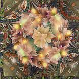 10248-10, павлопосадский платок шерстяной (разреженная шерсть) с швом зиг-заг, фото 3