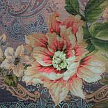 10467-14, павлопосадский платок шерстяной (разреженная шерсть) с швом зиг-заг, фото 3