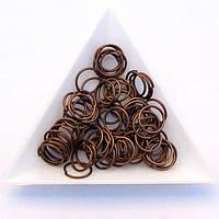Соединительные колечки диаметр 10 мм толщина 1,2 мм медь (примерно 0,5 кг)