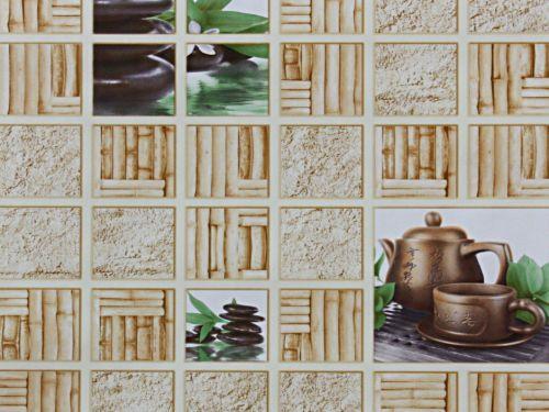 Обои бумажные, влагостойкие, Тибет 8013-01, 0,53*10м