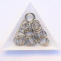 Соединительные колечки диаметр 12 мм толщина 1,2 мм сталь (примерно 0,5 кг)