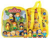 Игрововой набор Рюкзак с мини-фигурками (6 см), Caillou