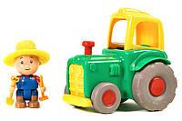 Игрововй набор фермер и трактор (зеленый), Caillou