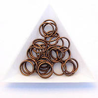 Соединительные колечки диаметр 12 мм толщина 1,2 мм медь (примерно 0,5 кг)