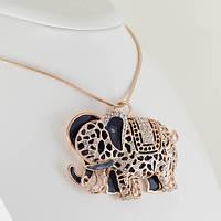 Роскошный кулон с кристаллами Swarovski + цепочка, покрытые золотом 0914