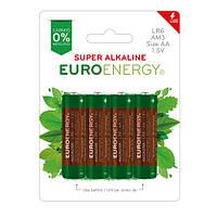 Батарейка SUPER ALKALINE.размер AA (LR6).напряж.:1.5В.цилиндрич. формы (4 шт. в блистере)