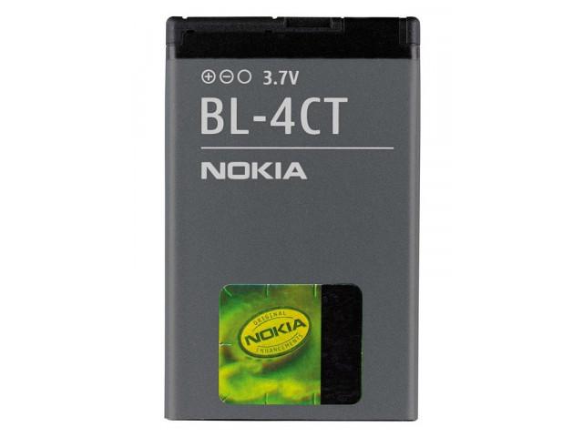 Акумуляторна батарея BL-4CT для мобільного телефону Nokia 2720, 5310, 5630, 6600f, 6700s, 7210sn, 7230, 7310sn, X3-00