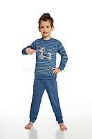 593 Пижама для мальчиков 43 Daddy and me Cornette джинсовый