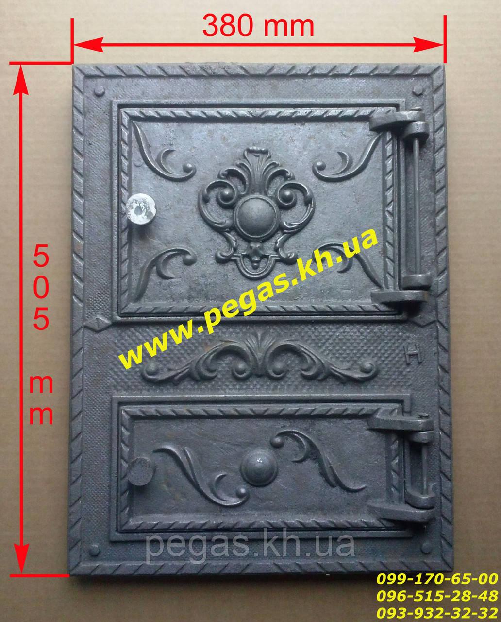 Дверка чугунная (Румыния №4) барбекю, грубу, печи, мангал