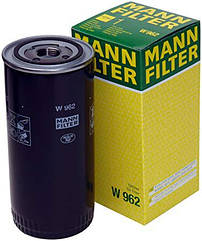 Фильтр масляный DAF, IKARUS, IVECO MANN-FILTER W962