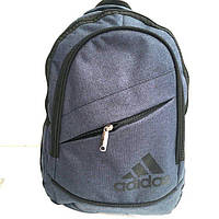 Рюкзаки спорт стиль текстиль Adidas (синий)24*40, фото 1