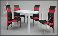Комплект MODERNO стіл і 4 крісла