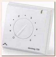 Devireg 130 - стандартный терморегулятор, Дания