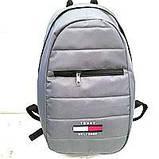 Рюкзаки спорт стиль текстиль Supreme (серый)37*47, фото 7