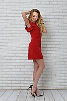 Платье арт. 783 вишневое, фото 1