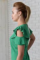 Платье арт. 783 зеленое, фото 1