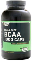 БЦАА, Optimum Nutrition, BCAA 1000, 400 caps