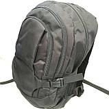 Рюкзаки спорт стиль текстиль (серый)30*45, фото 3
