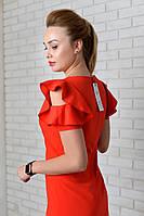 Платье арт. 783 красное, фото 1
