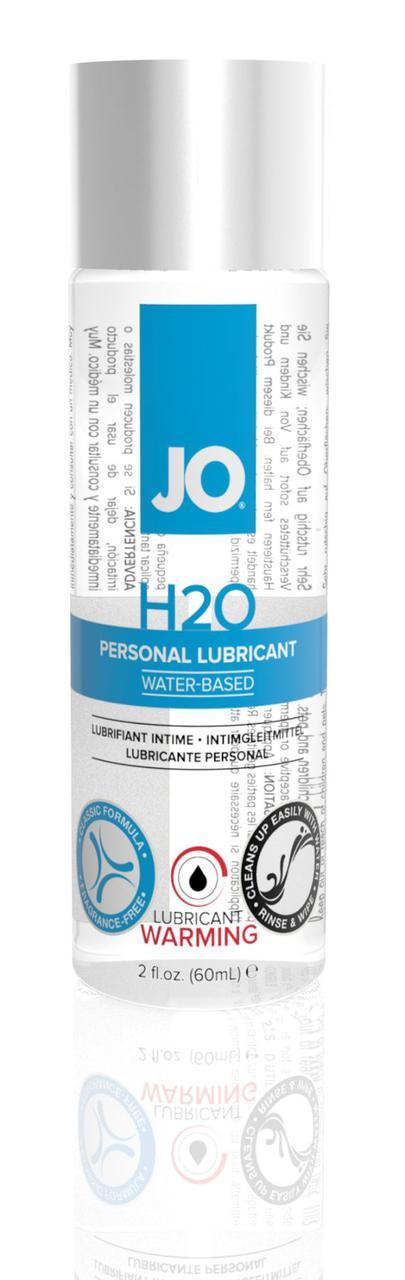 Лубрикант на водной основе System JO H2O - WARMING (60 мл)