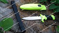 Подводный нож Скат/Отличный нож для подводной охоты из пластиковым чехлом