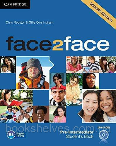 Face2face 2nd Edition Pre-Intermediate Student's Book + DVD-ROM