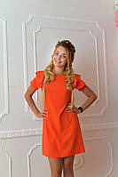 Платье арт. 783 коралловое