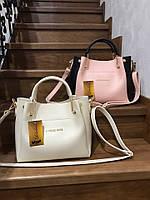 Женская сумка с логотипом бренда 1258 (ЮЛ), фото 1