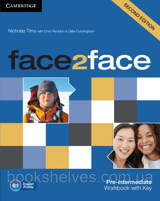 Face2face 2nd Edition Pre-intermediate WorkBook + key
