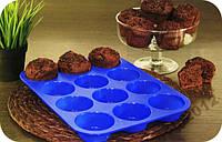 Силиконовая форма для выпекания кексов Home Essentials B990, фото 1