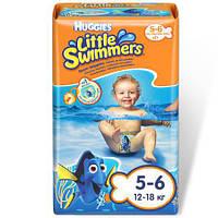 """Подгузники для плавания """"Huggies Little Swimmers 5-6 """" 12-18 кг в упаковке 11 шт."""