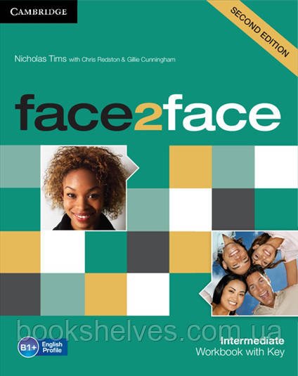 Face2face 2nd Edition Intermediate WorkBook + key