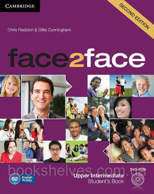 Face2face 2nd Edition Upper-Intermediate Student's Book + DVD-ROM