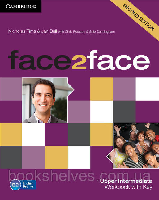 Face2face 2nd Edition Upper-Intermediate WorkBook + key