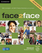 Face2face 2nd Edition Advanced Student's Book + DVD-ROM