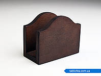 Салфетница деревянная, фото 1