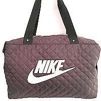 Стеганные сумки Nike (бордо+белый стёганный)28*38