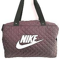 Стеганные сумки Nike (бордо+белый стёганный)28*38, фото 1