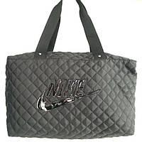 Стеганные сумки Nike (черный стёганный)28*38, фото 1