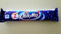 Шоколадний батончик Milky Way 1+1 43 г