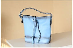 Товар с дефектом. Голубая сумка