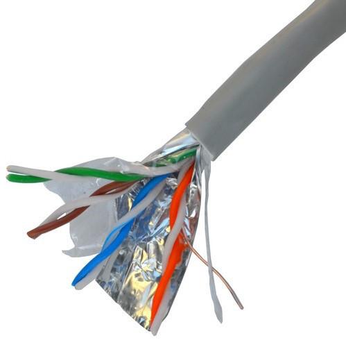 Кабель компьютерный витая пара FTP Cat.5e 4x2x(0,51CU), диам.-6,3мм, с