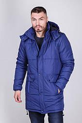 Куртка (парка) зимняя мужская ARTY синяя