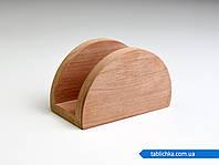 Салфетница из ольхи полукруг, фото 1