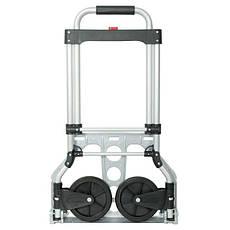 Тележка ручная складная до 60 кг, 450*420*960, колеса 150 мм, (алюминиевая) INTERTOOL LT-9005, фото 3