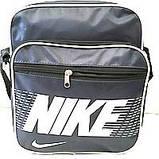 Мужские барсетки плащевка  Nike (черный)26*31 , фото 2