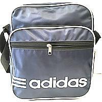 Чоловічі барсетки плащівка Adidas (синій)26*31