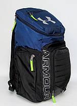 Рюкзак городской Under Armour сине-черный, фото 3