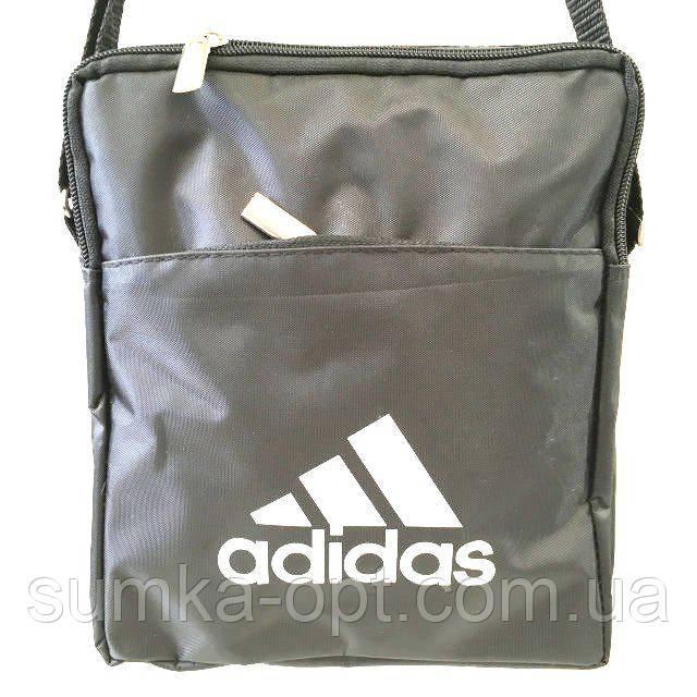 Текстильні барсетки M Adidas (чорний)18*22