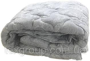 Одеяло полуторное зимнее 155х210 холлофайбер ОДА, фото 3